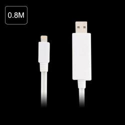 Câble USB LUMINEUX pour Iphone 5, Ipad 4, ipad mini, ipod touch 5 et Ipod nano 7