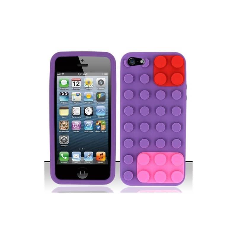 Coque LEGO Mauve Pour IPhone 5 5S Et SE