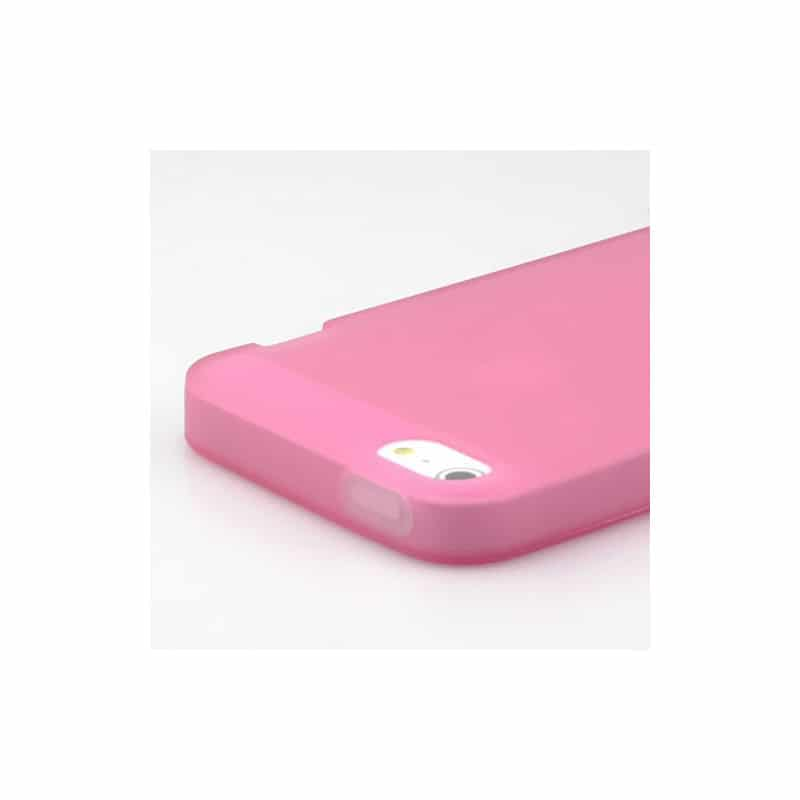 coque phosphorescente rose pour iphone 5 5s et se. Black Bedroom Furniture Sets. Home Design Ideas