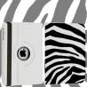 Etui rabattable 360 ZEBRE pour iPad 2, 3 et 4