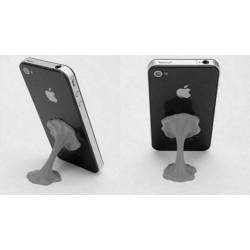 Support CHEWING GUM noir pour Ipod, Iphone et autres telephones et MP3