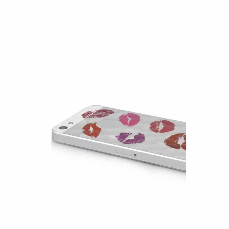 film cran 3d recto verso kiss anti reflet et anti rayures pour iphone 5 5c 5s et se. Black Bedroom Furniture Sets. Home Design Ideas