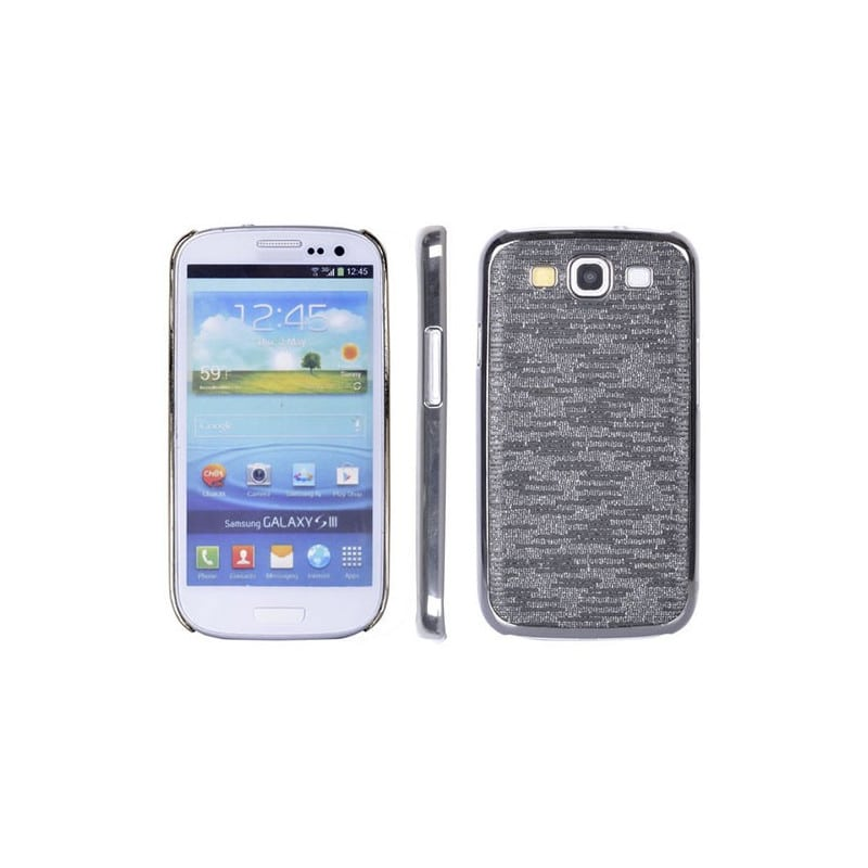 coque magic noire pour samsung galaxy s3 i9300. Black Bedroom Furniture Sets. Home Design Ideas