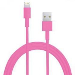 Câble USB LIGHTNING rose