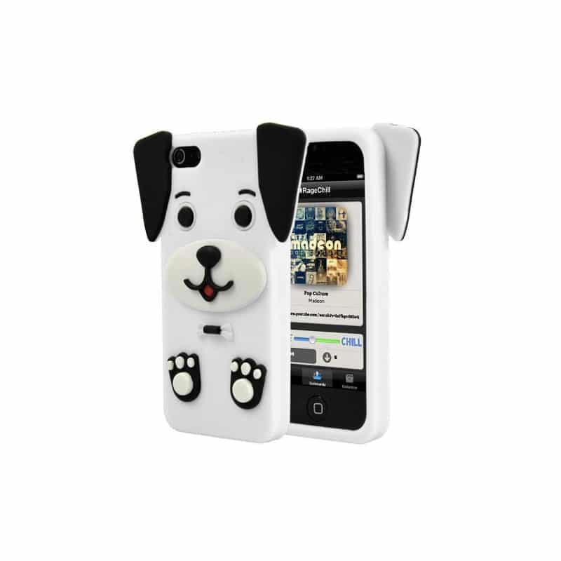 coque iphone 5 3d chien