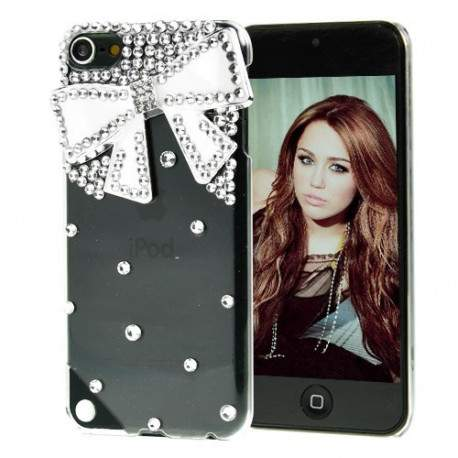 coque strass noeud pour iphone 5 5s se