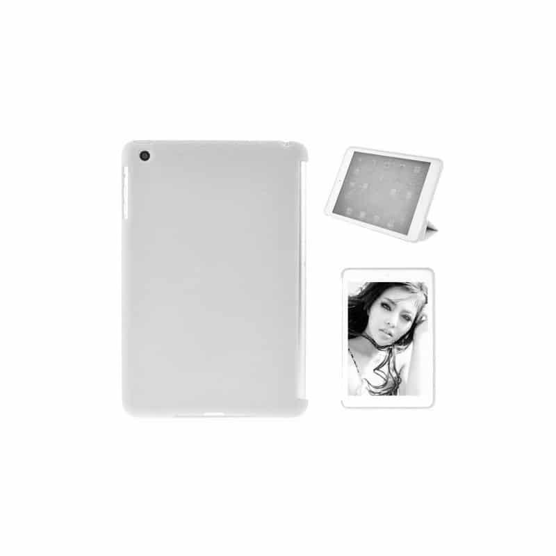 coque compatible smart cover blanche pour ipad mini. Black Bedroom Furniture Sets. Home Design Ideas