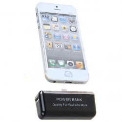 Batterie BOOST 2800mAh pour iPhone 5, 5C, 5S, 6 et 6+