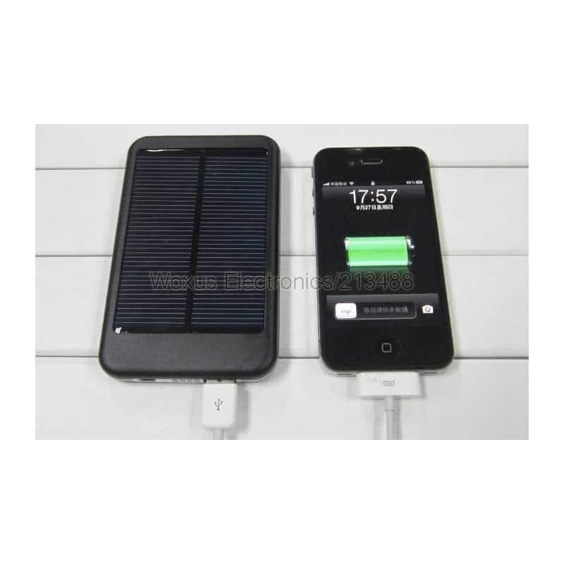 batterie solaire universelle 2600 mah pour telephones et mp3. Black Bedroom Furniture Sets. Home Design Ideas