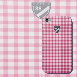 Coque rose CREMIEUX pour Iphone 4 et 4S