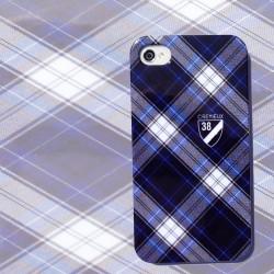 Coque bleu marine CREMIEUX pour Iphone 4 et 4S