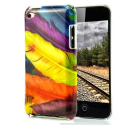 Coque PLUMES pour IPOD TOUCH 4