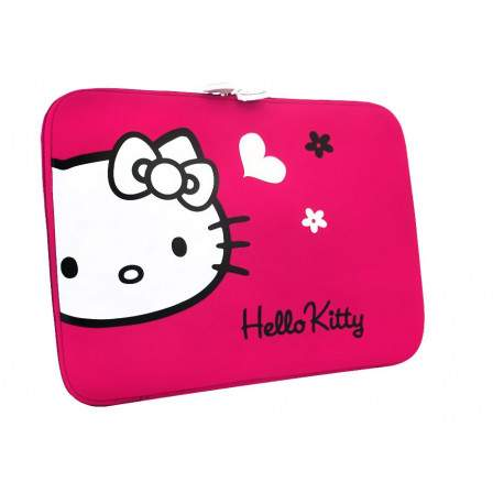 Housse universelle originale hello kitty pour tablettes et for Housse de voiture hello kitty
