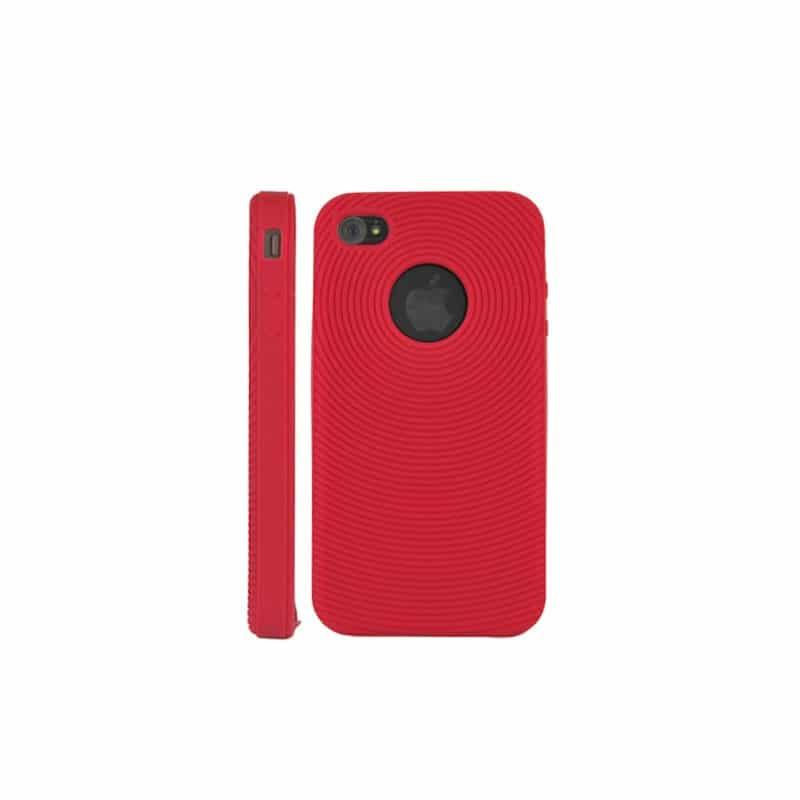 coque spirale rouge pour iphone 4. Black Bedroom Furniture Sets. Home Design Ideas