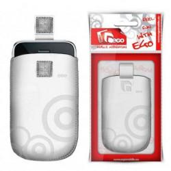 Pochette EGO blanche universelle pour telephones et lecteurs mp3
