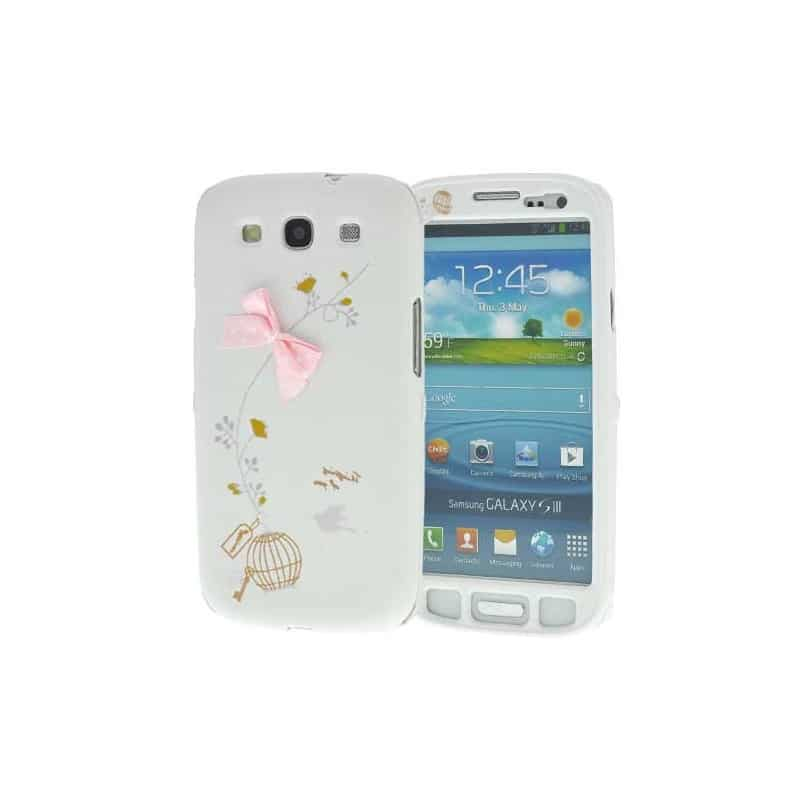 coque cage pour samsung galaxy s3 i9300. Black Bedroom Furniture Sets. Home Design Ideas