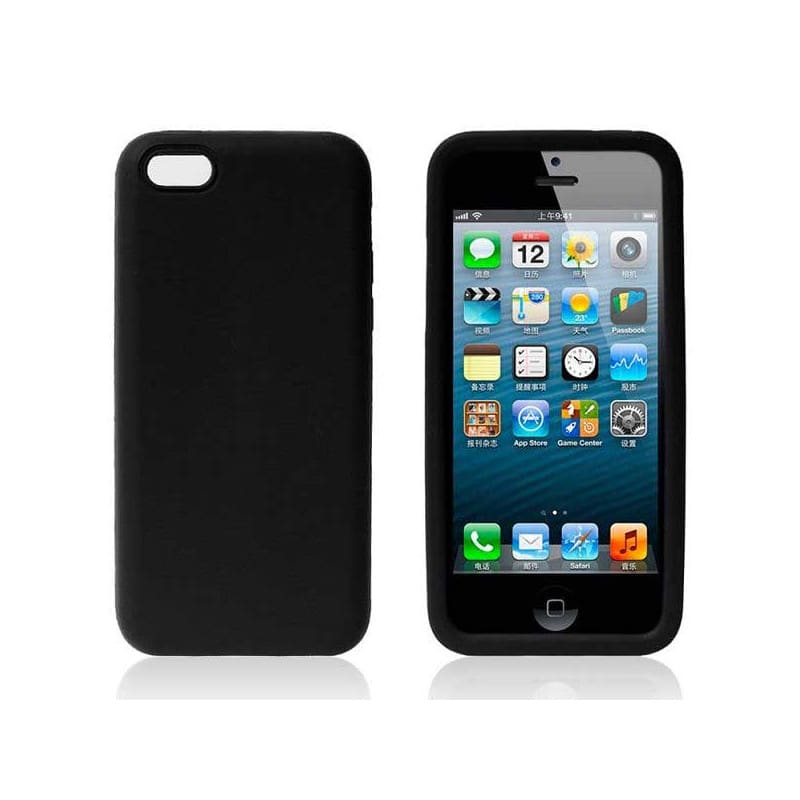 coque silicone noire pour iphone 5c. Black Bedroom Furniture Sets. Home Design Ideas