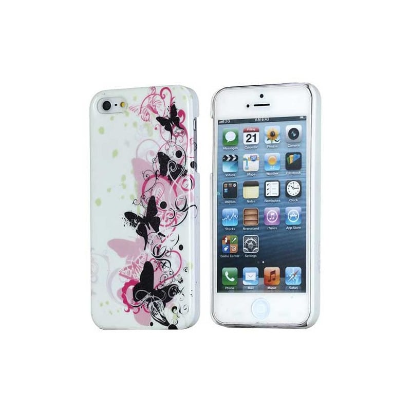 coque butterfly 4 pour iphone 5c. Black Bedroom Furniture Sets. Home Design Ideas