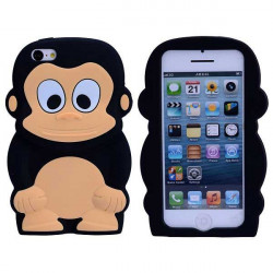 coque 3d monkey pour iphone 5c