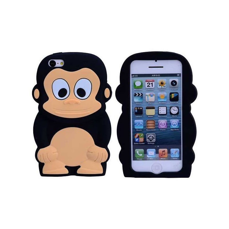 Coque 3d monkey pour iphone 5c for Cuisine 3d pour iphone