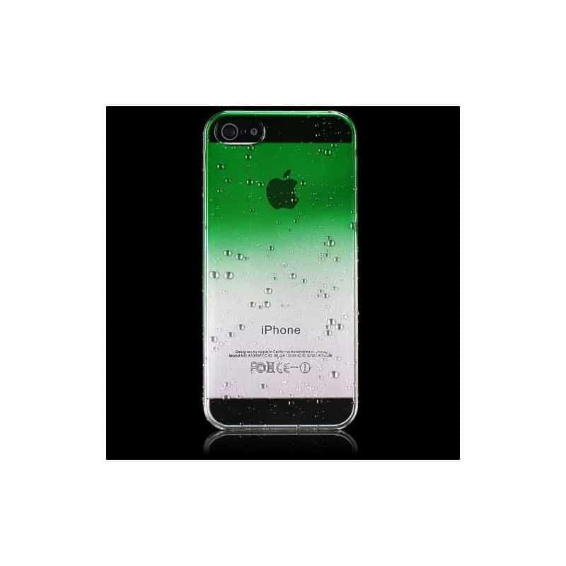 Coque Verte Iphone S