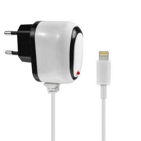 Chargeur 220 volts LIGHTNING pour Iphone 5, 5S, 5C, Ipad Ipod touch 5 et nano 7.