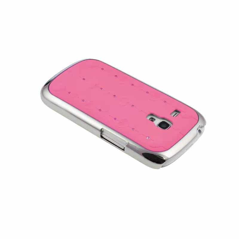 coque delicate rose pour samsung galaxy s3 mini gt i8190. Black Bedroom Furniture Sets. Home Design Ideas