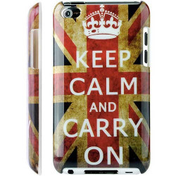 Coque KEEP CALM UK pour IPOD TOUCH 4