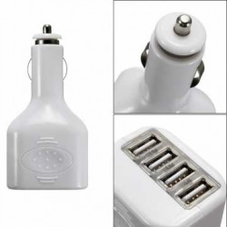 chargeur 4 USB 12 volts allume cigare
