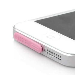 PROTECTION CONNECTEURS ROSE POUR IPHONE 5, 5s, 5c et ipod touch 5