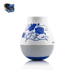 Haut parleurs BLUETOOTH YIMI FLOWER bleu pour iphone, ipod et pour autres telephones