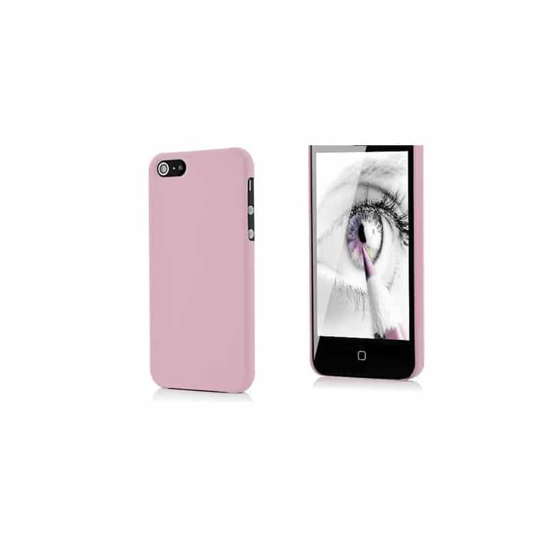 coque phosphorescente rose pour iphone 5 5s se. Black Bedroom Furniture Sets. Home Design Ideas