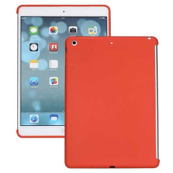 coque SILICONE rouge pour IPAD AIR
