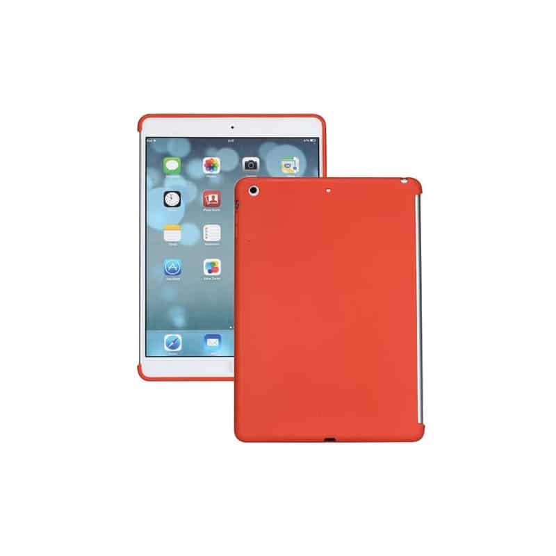 coque silicone rouge pour ipad air. Black Bedroom Furniture Sets. Home Design Ideas