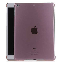 coque CRYSTAL rose pour IPAD AIR