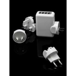 chargeur 4 USB pour vos telephones et Mp3
