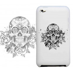 Coque SKULL AND FUN pour iPod Touch 4