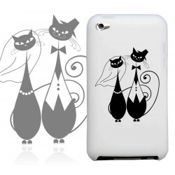 Coque PAIR OF CATS pour iPod Touch 4