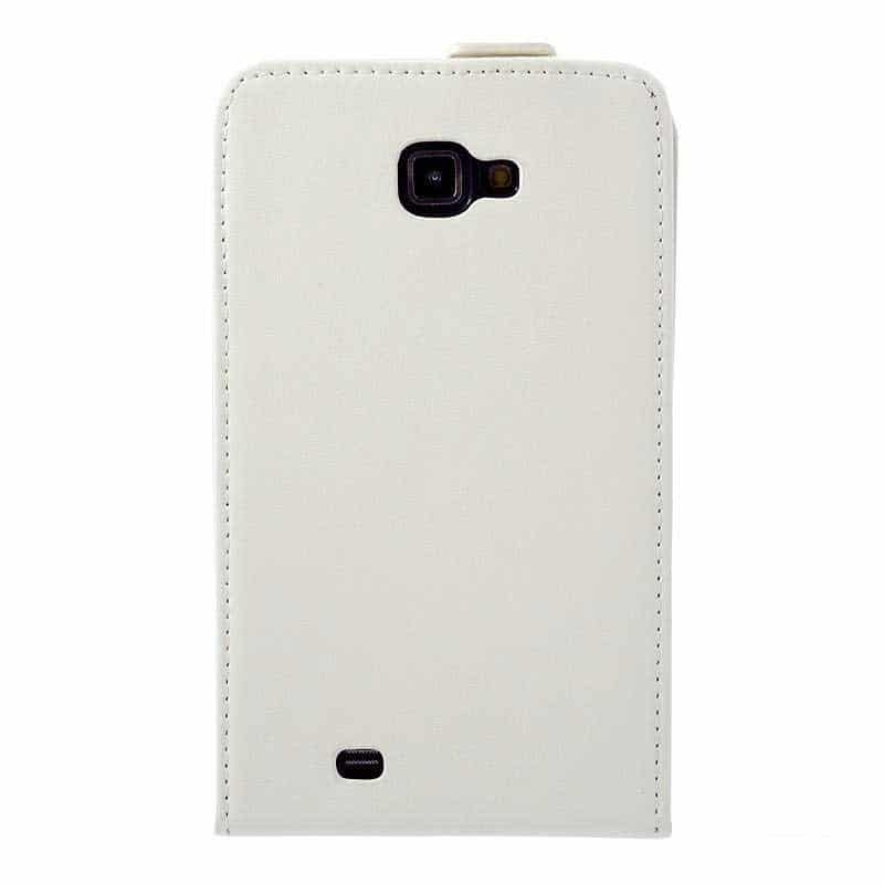etui rabattable blanc pour samsung galaxy note 3. Black Bedroom Furniture Sets. Home Design Ideas