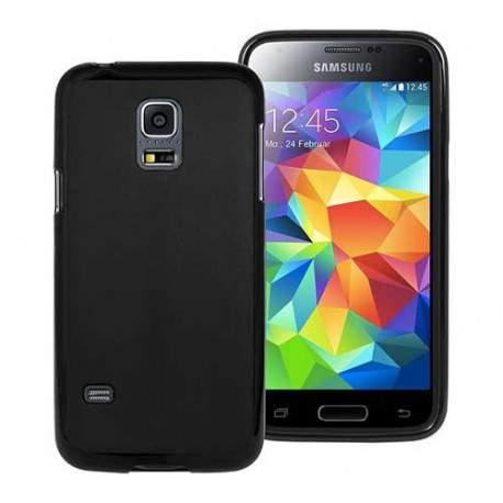 coque silicone noire pour samsung galaxy s5 mini. Black Bedroom Furniture Sets. Home Design Ideas