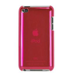 """Coque """" CRISTAL """" de couleur rose pour IPOD TOUCH 4"""