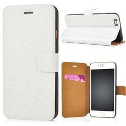 Etui rabattable PULL UP blanc pour iPhone 6 ( 4.7 )