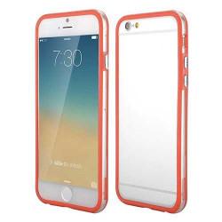 BUMPER LUXE transparent rouge pour iPhone 6 et 6S ( 4.7 )