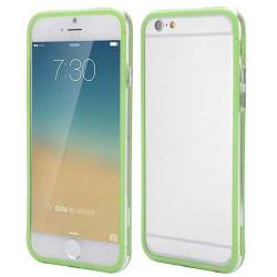 BUMPER LUXE transparent vert pour iPhone 6 et 6S ( 4.7 )
