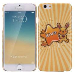 Coque rigide RABBIT LOVE pour iPhone 6 ( 4.7 )