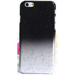 Coque CRYSTAL WATER noire transparente pour iPhone 6 ( 4.7 )