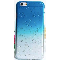 Coque CRYSTAL WATER bleue transparente pour iPhone 6 ( 4.7 )