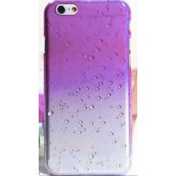 Coque CRYSTAL WATER mauve transparente pour iPhone 6 ( 4.7 )