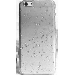 Coque CRYSTAL WATER blanche transparente pour iPhone 6 ( 4.7 )