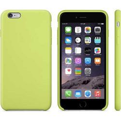 Coque silicone verte pour iPhone 6 + ( 5.5 )